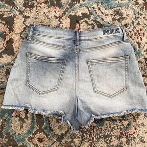 High waist PINK shorts
